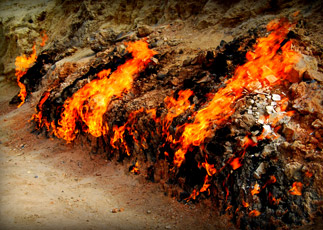 Burning Mountain Yanardag